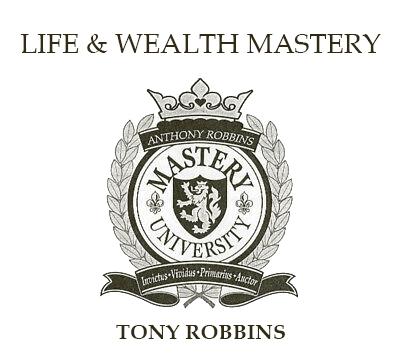 Tony Robbins Life and Wealth Mastery Logo
